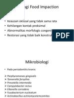 Etiologi Food Impaction