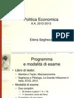 Politica Economica Lezione 1 (1)