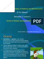 Centre of Gravity and Segmental Analysis