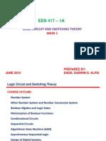 EEN 417-logic circuits