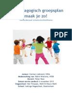vooronderzoek pedagogisch groepsplan carmen liebrand vr3a aanbod 1