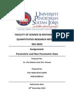 Parametric and non parametric
