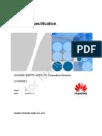 HUAWEI EM770 Product Specification V1.0