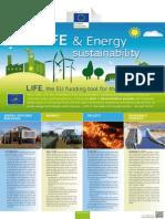 Poster LIFE & Energy Sustainability