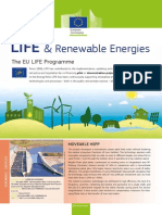 Factsheet LIFE & Renewable Energies