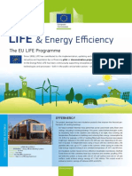 Factsheet LIFE & Energy Efficiency