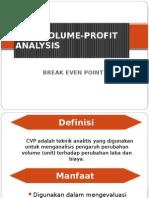 Cost-Volume-profit Analysis Bu Alni