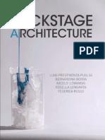 Backstage Architecture(2012)