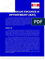 KHANNAN FINANCE & INVESTMENT