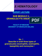 Expert Lecture (Granulocytes Disorders)