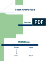 Classes Gramaticais Simples