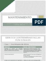 Ejercicio 2 (MTTO)