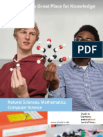 Germany - a Great Place for Knowledge - Natural Sciences, Mathematics, Computer Science