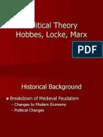 Hobbes, Locke, Marx