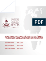 PADRÕES DE CONCORRÊNCIA DA INDÚSTRIA 2