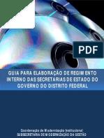 Manual do regimento interno Brasília