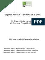 VI. Sagardo Astea Argazki Lehiaketa / VI Concurso Fotográfico Semana de la Sidra