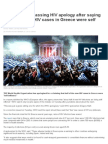 WHO in Embarrassing HIV Apology After Saying Half of All New HIV Cases in Greece Were Self Inflicted _ News.com