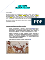 Musica y Danza Incas