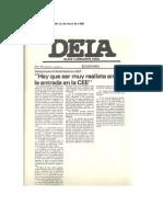 """Daniel de Busturria-""""Hay que ser muy realista ante la entrada en la CEE"""""""