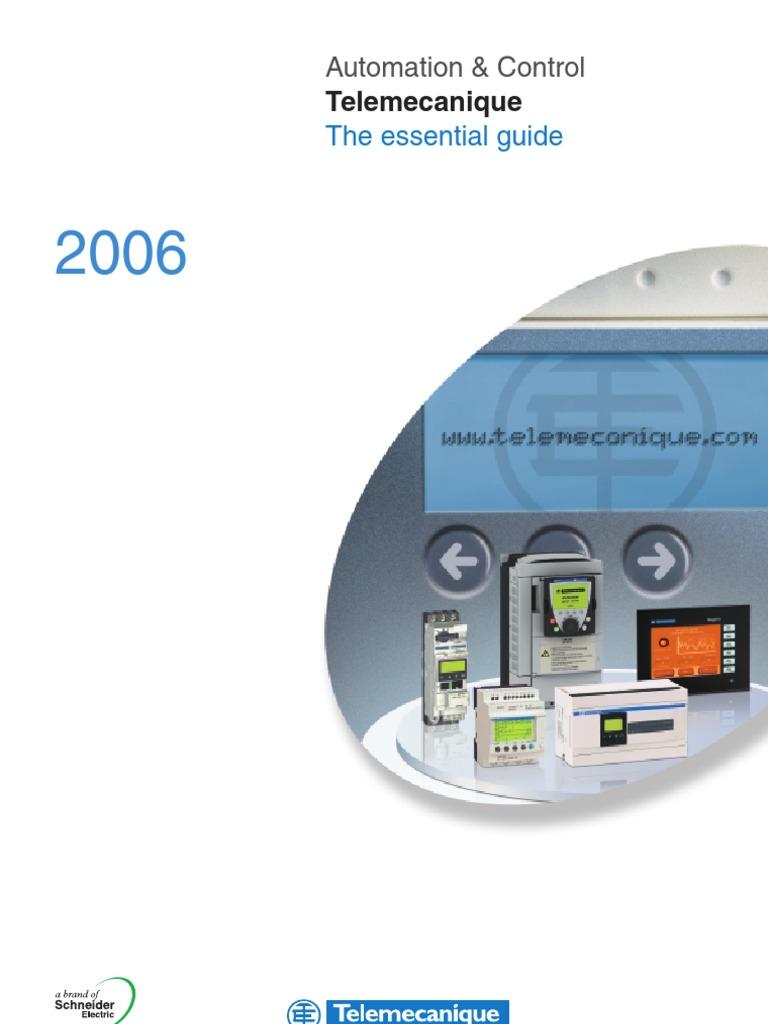 Telemecanique Essential Guide | Programmable Logic Controller