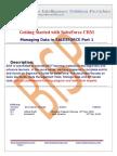 SalesForce Managing Data