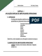 Aplicacoes Especiais de Amplificadores Operacionais Vincence Udesc