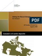 Oil Sands Developers Group Presentation