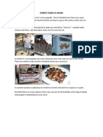 Street Food in Spain PDF Complete