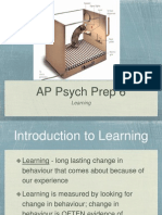 AP Psych Prep 6 - Learning