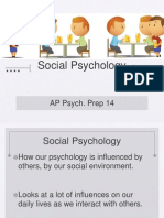 AP Psych Prep 14 - Social Psychology