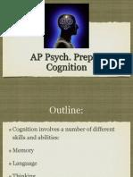 AP Psych Prep 7 - Cognition