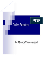 4.3 Oral vs Parenteral