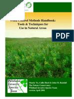 Weed Control Methods Handbook