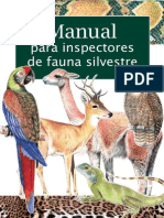 De Filippi - Manual Para Inspectores de Fauna Silvestre