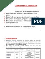 Tema 6 - Competencia Perfecta