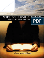 Lisa Zunshine Why We Read Fiction Theory of Mind and the Novel Theory and Interpretation of Narrative 2006