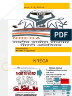 NREGA conception and failure