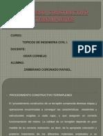 Proceso Constructivo Terraplenes
