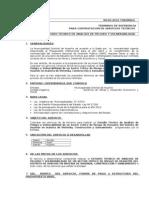 TDRS Servicios técnicos zonas Vulnerables