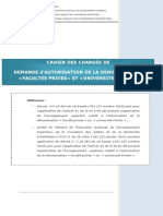Cahier Charge Prive
