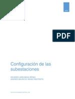 Configuración de las subestaciones