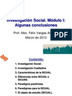 Conclusiones MóduloI SIS20121