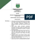 Peraturan Daerah Kota Batu Nomor 7 Tahun 2011 Tentang Rencana Tata Ruang Wilayah Kota Batu Tahun 2010 - 2030