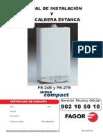 Manual+Caldera+Fagor+Super+Compact+FE24E+y+FE27E