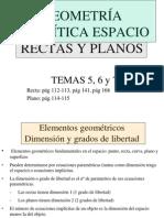 02 Geometria Analitica en El Espacio Recta y Plano