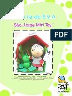 082-são jorge mini toy