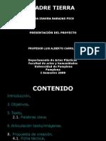 PADRE TIERRA, Hna, Isaura Barajas