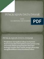 Pengkajian Data Dasar