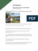 Métis seek heritage title for Fish Lake